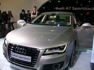 auto show 2010 audi A7 Sportback