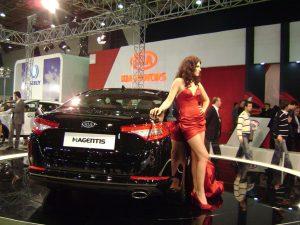Auto show 2010 KIA Magentis