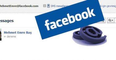 Facebook mail açıldı 2011