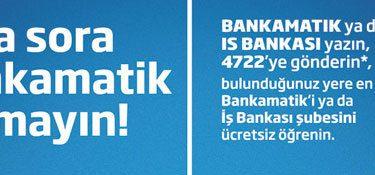 sora sora bankamatik arama