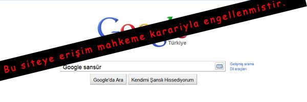 google önbellek engellendi