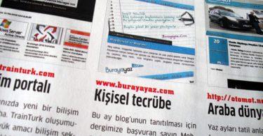 Burayayaz.com Chip Temmuz 2011 sayısında