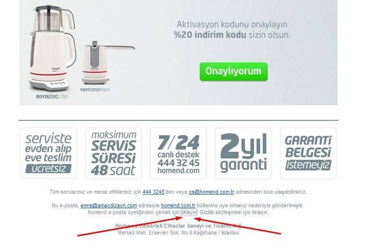 homend-izin-maili